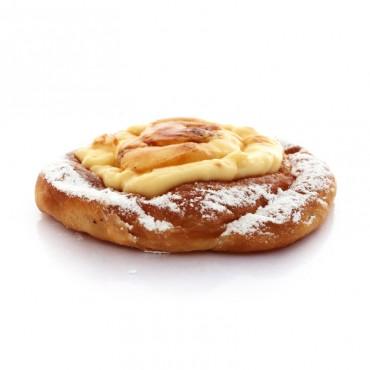 Ensaimada de crema catalana 150g ,panaderos artesanos en Barcelona online