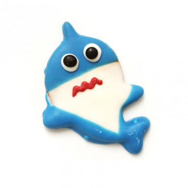 Galleta baby shark azul
