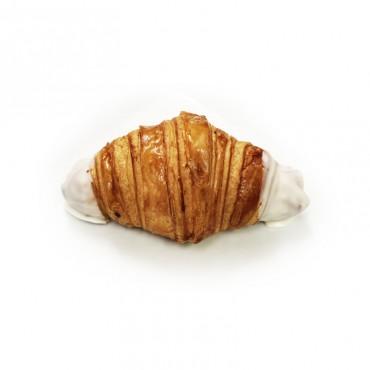 Croissant chocolate blanco 40g ,panaderos artesanos en Barcelona online