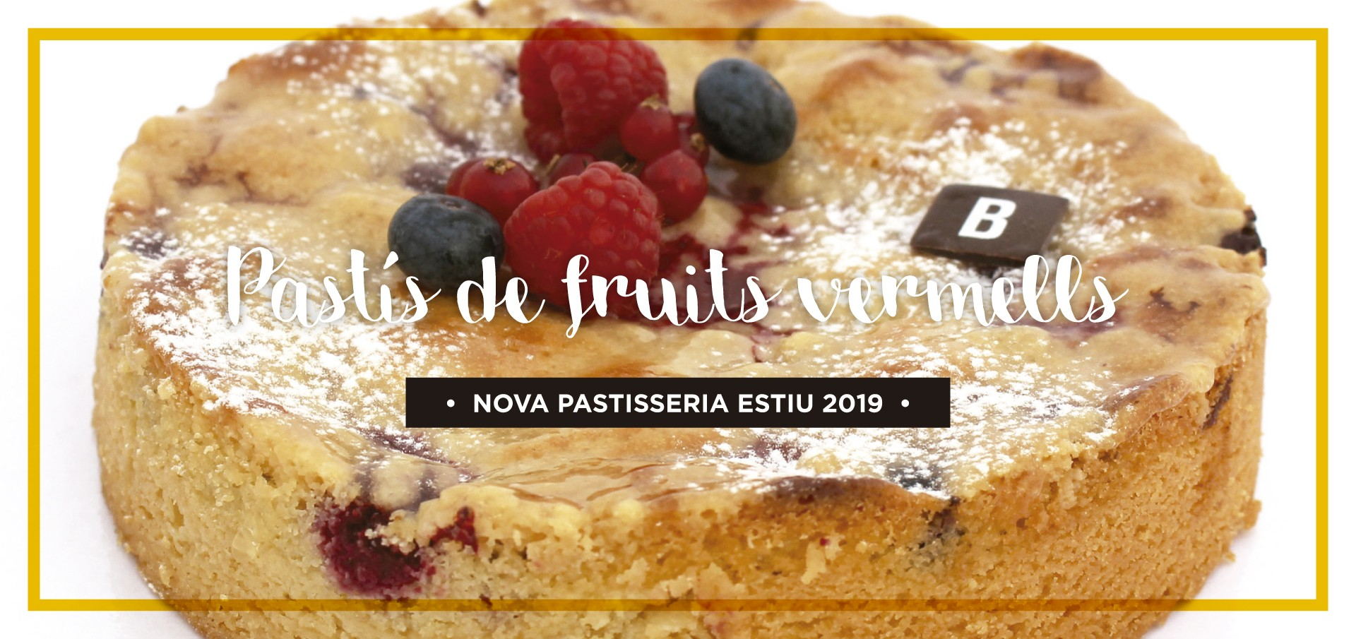 Pastís de fruits vermells